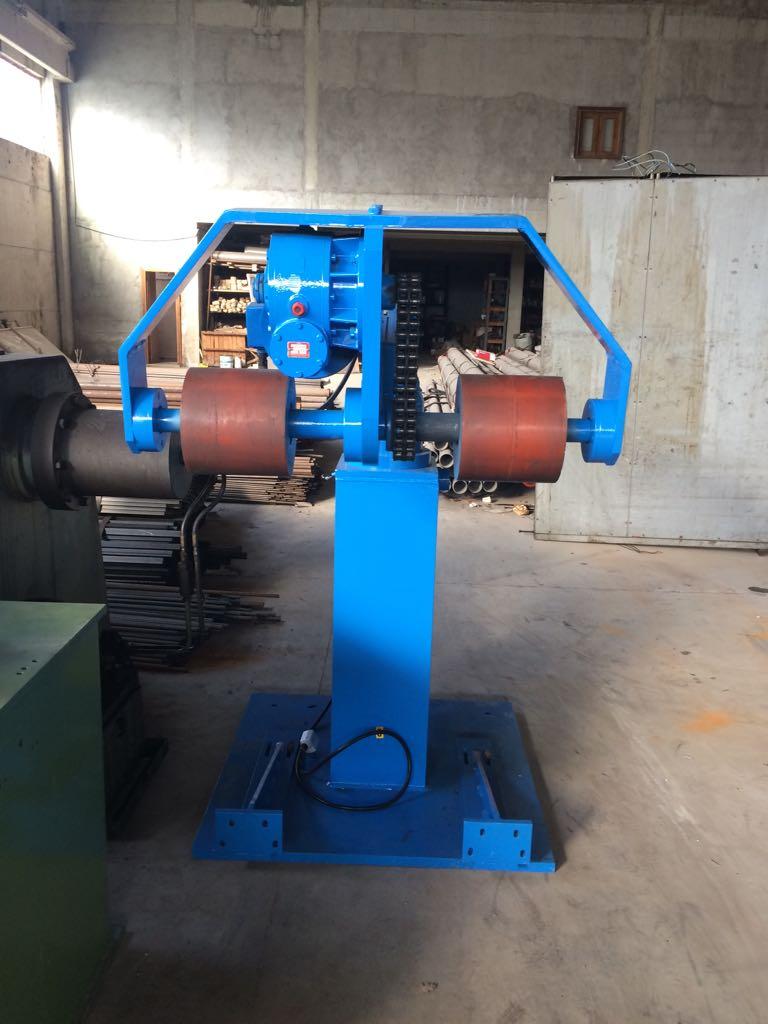 Poważne Rozwijak nawijak do blach w kręgu 8 ton x 1250mm CA61