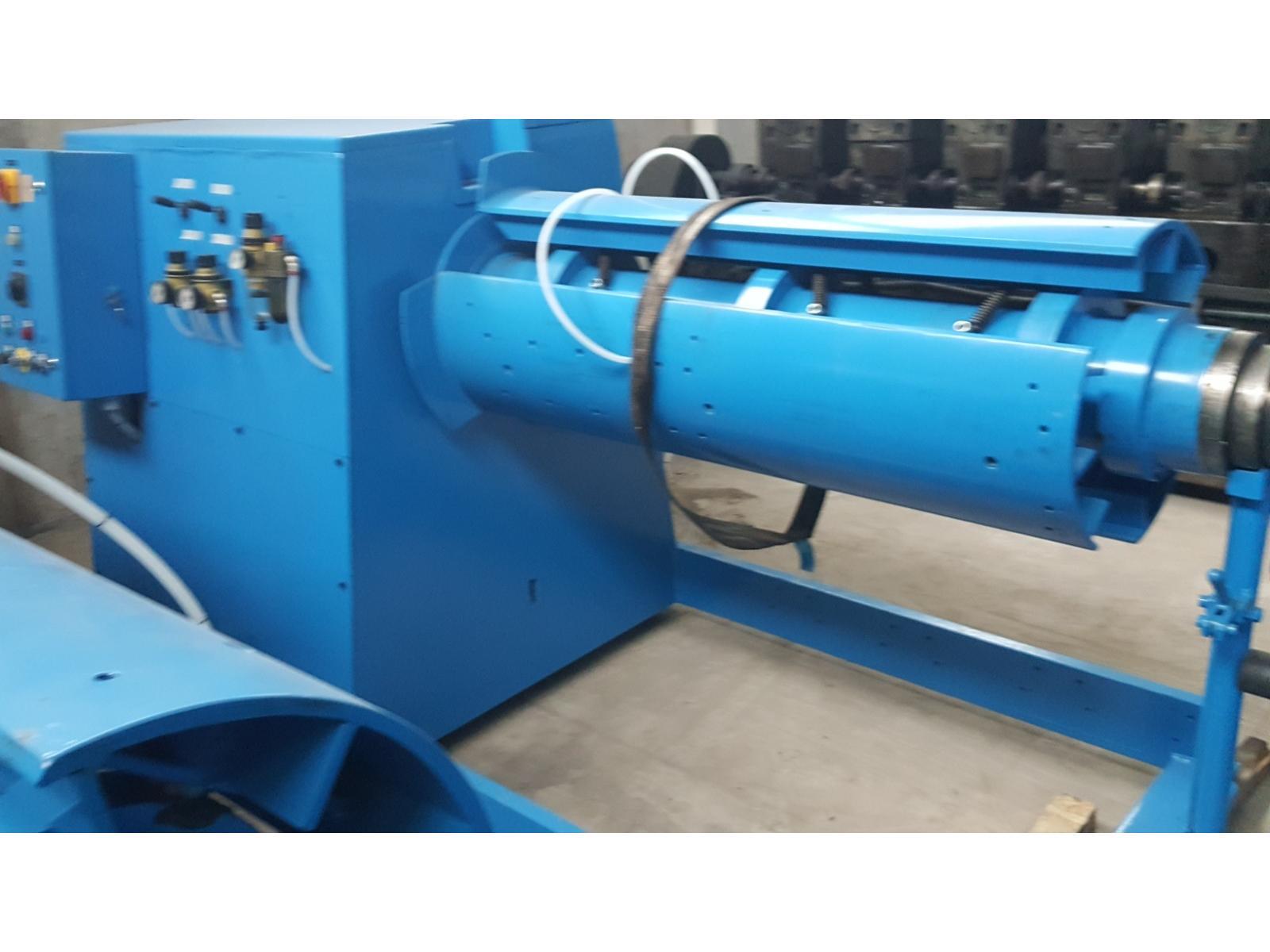 Rewelacyjny Rozwijak nawijak do blach w kręgu 8 ton x 1250mm UF61
